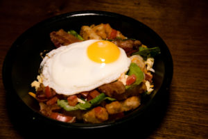 The Crestwood Tavern Birmingham, Alabama Breakfast bowl with egg
