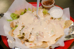 The Crestwood Tavern Birmingham, Alabama Chicken nachos
