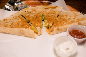 The Crestwood Tavern Birmingham, Alabama Chicken quesadilla
