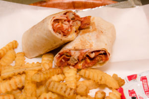 The Crestwood Tavern Birmingham, Alabama Pizza wrap